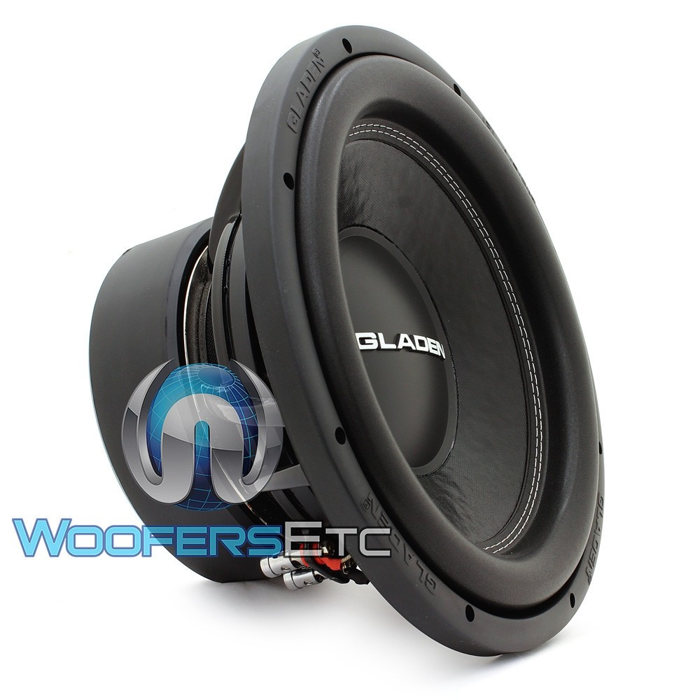 "Gladen SQX12 EXTREME 12"" 750W RMS 2-Ohm Subwoofer"