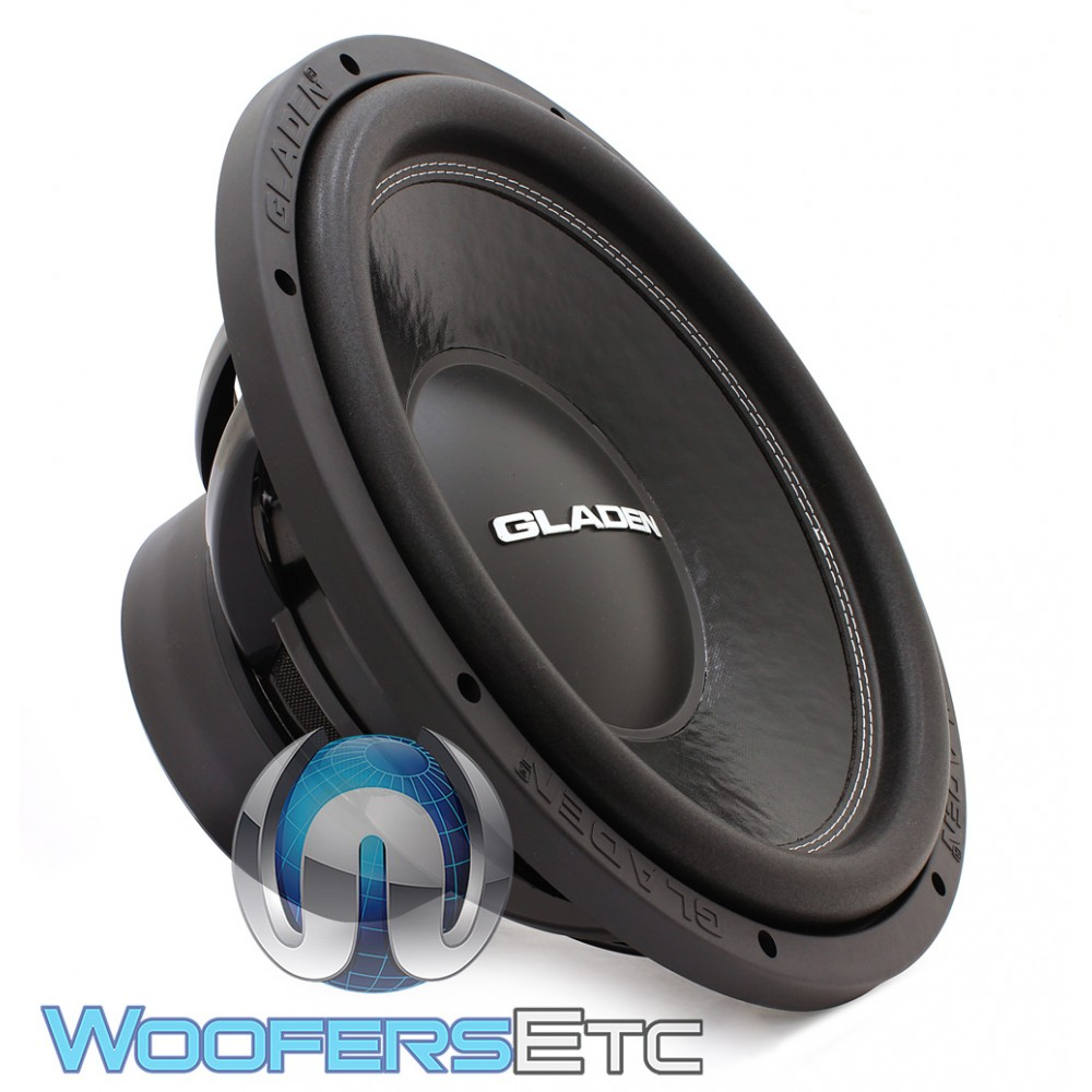gladen mosconi sqx15 15 700w rms 4 ohm sqx series subwoofer. Black Bedroom Furniture Sets. Home Design Ideas