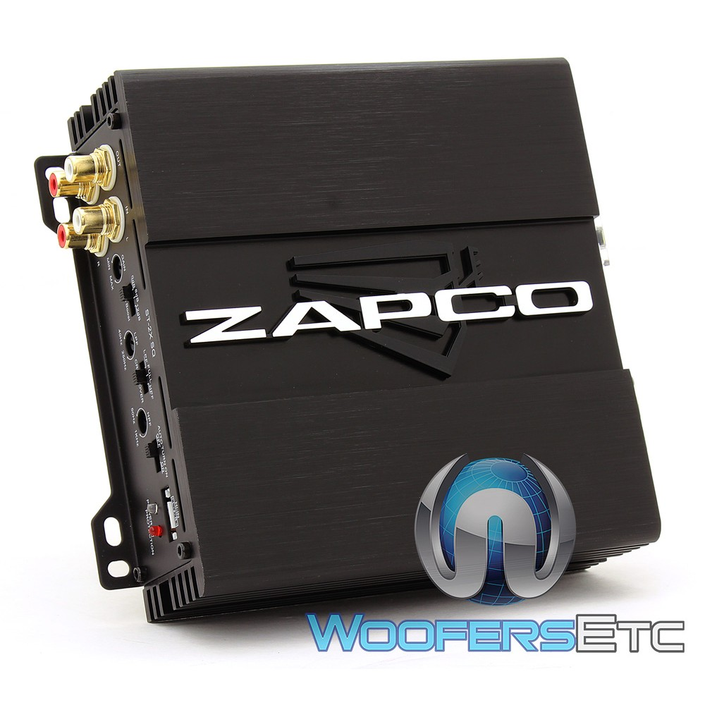 zapco st 2x sq 2 channel class ab car amplifier. Black Bedroom Furniture Sets. Home Design Ideas