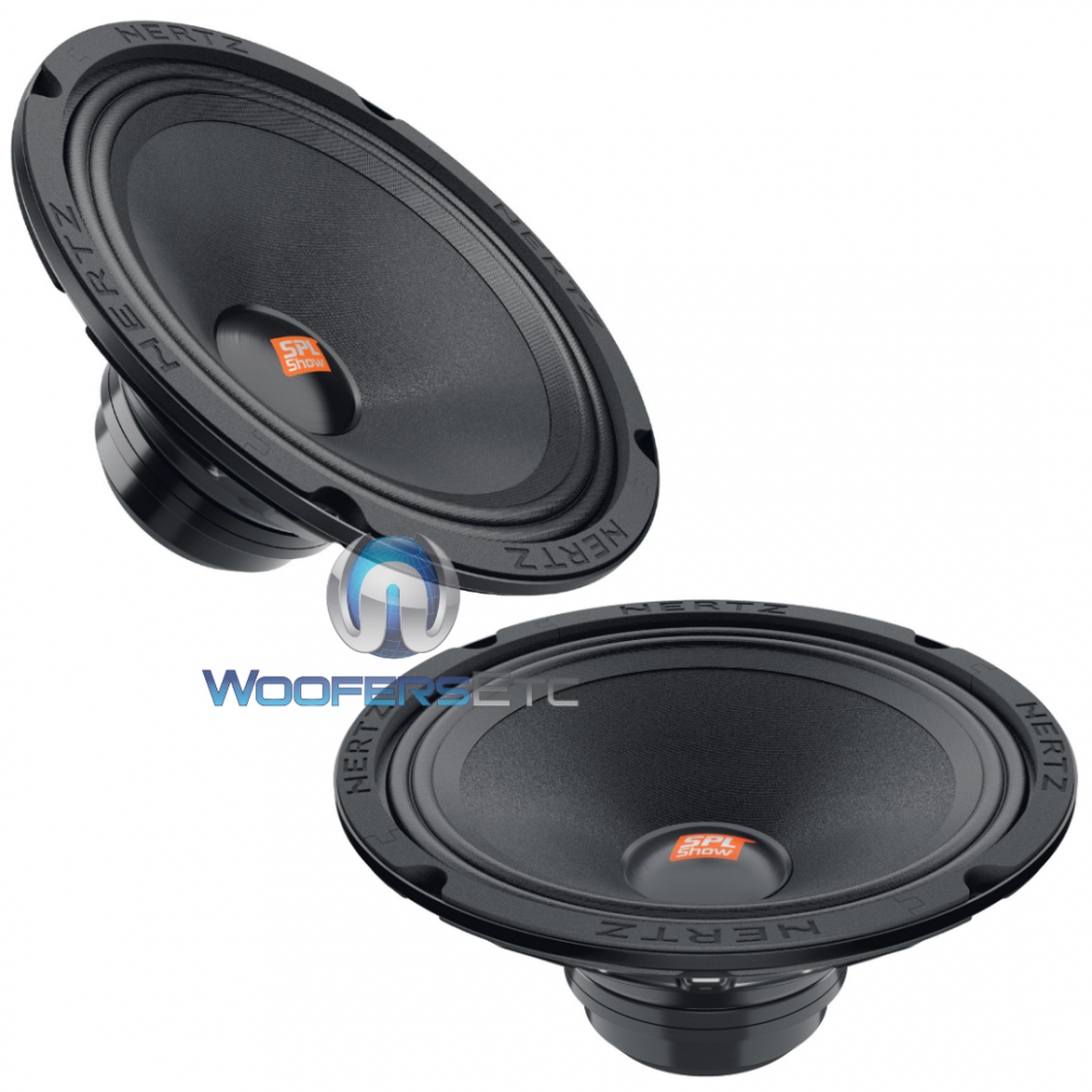"""Hertz SV 200 NEO SPL Show 8"""" 200 Watts Midrange Speaker"""