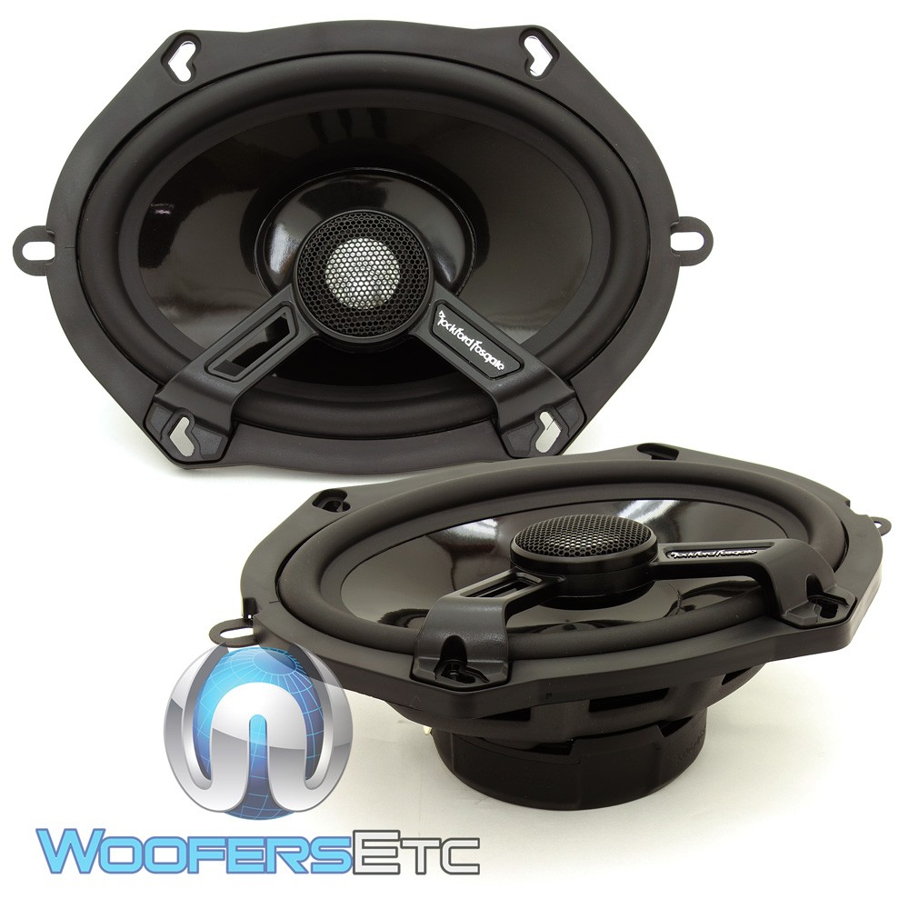 "T1572 - Rockford Fosgate 5"" x 7"" 2-Way Full-Range Power Series Speakers"