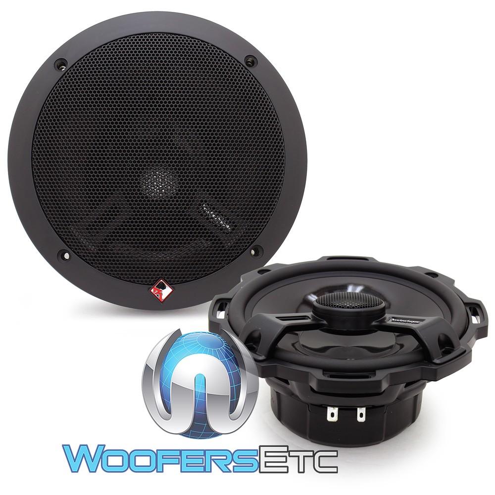 "Rockford Fosgate T1675 6.75"" 2-Way Power Series Coaxial Car Speakers"
