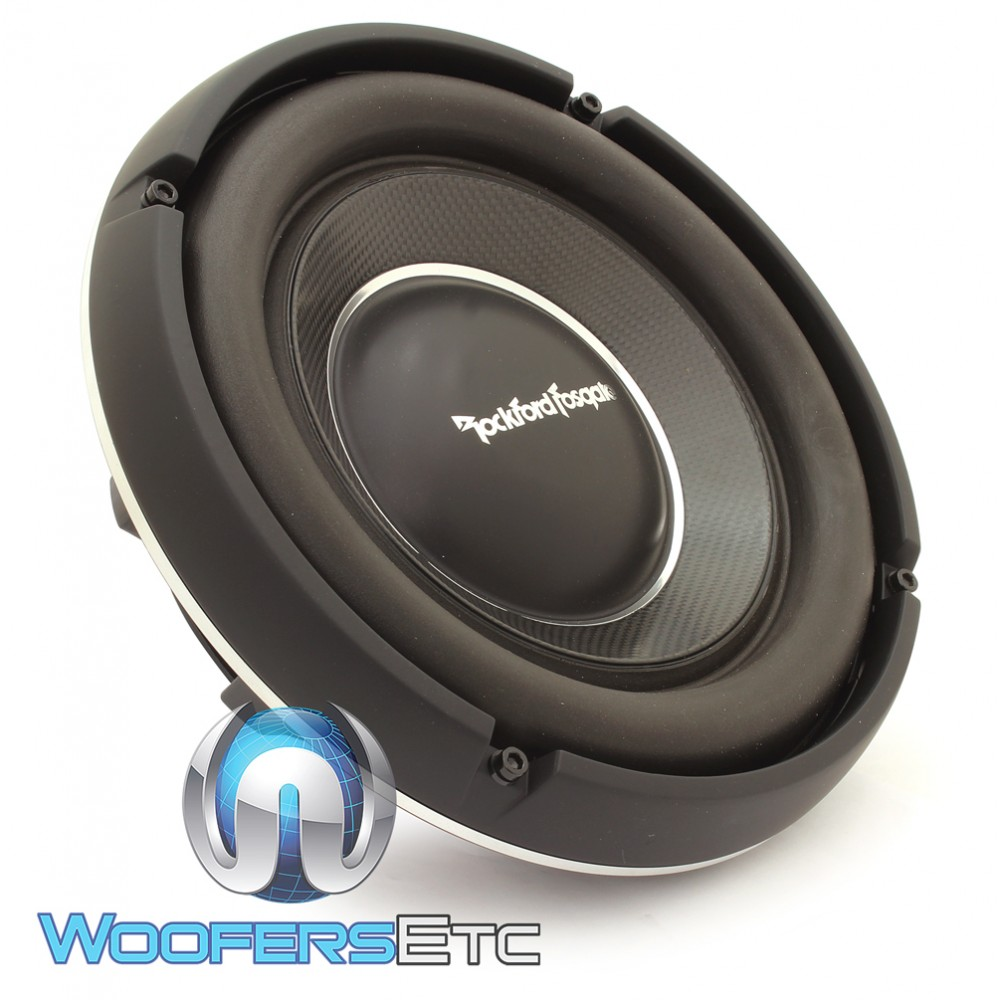T1s2 10 Rockford Fosgate Power 500w Rms Single 2 Ohm Shallow 8 Subwoofer
