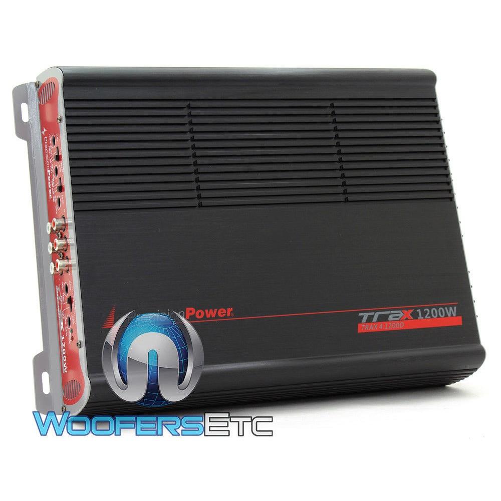 precision power 4 channel 1200w class d amplifier. Black Bedroom Furniture Sets. Home Design Ideas