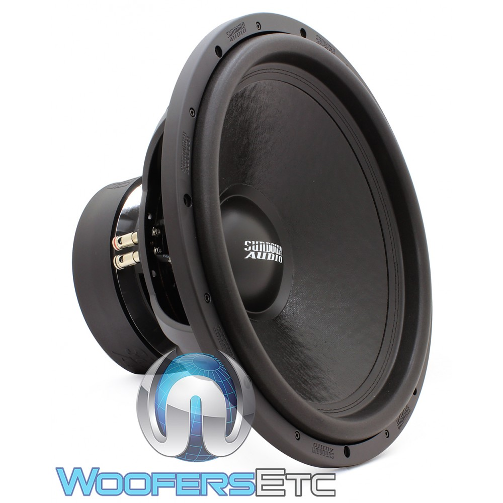 "Sundown Audio U-18 D2 18"" 1500W RMS Dual 2-Ohm U-Series Subwoofer"