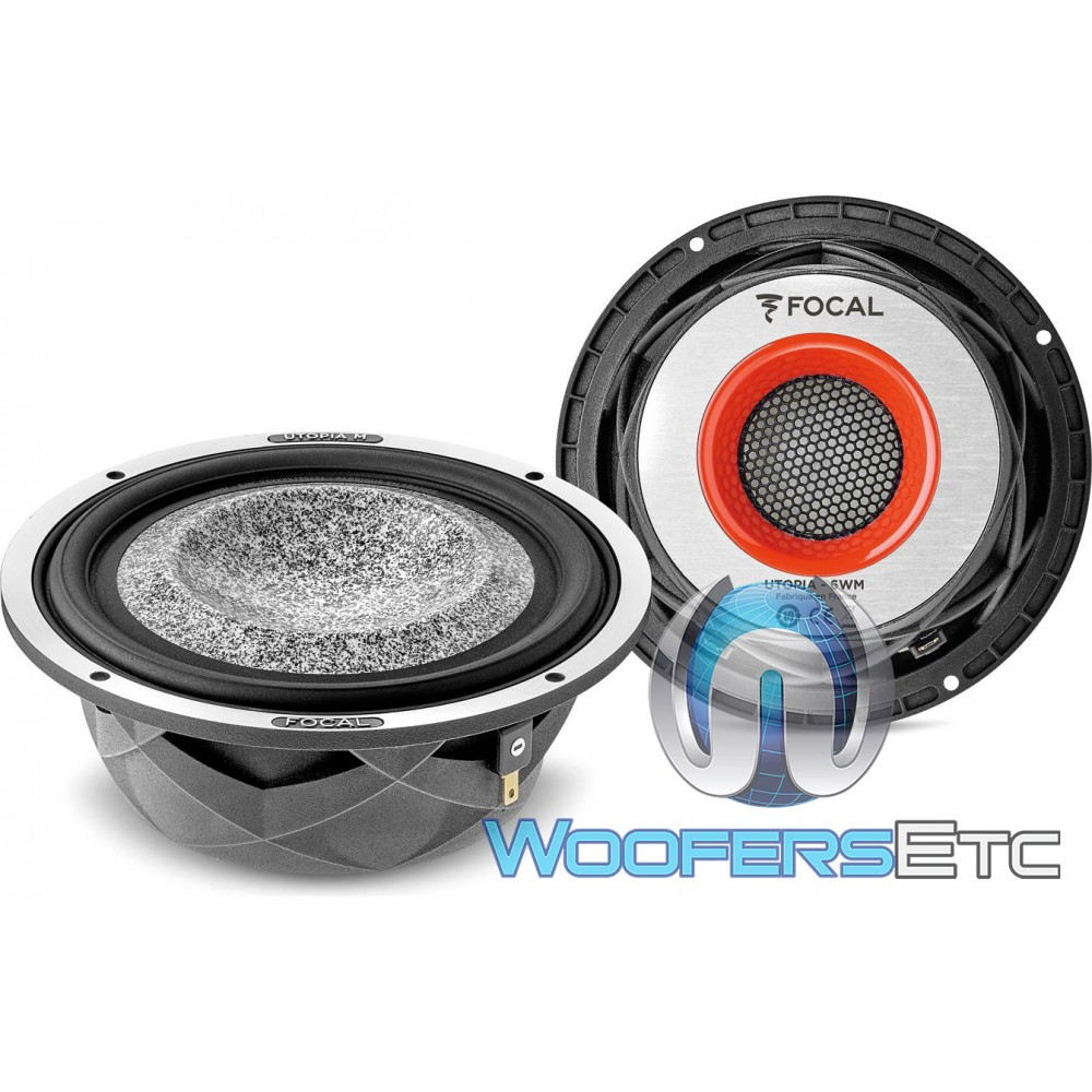 """Focal Utopia 6WM 6.5"""" 100W RMS 4-Ohm Component Woofers"""