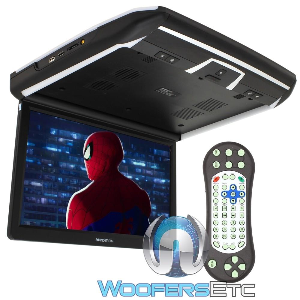 "Soundstream VCM-160DMH 16"" LCD High Resolution Ceiling Mount DVD Player"