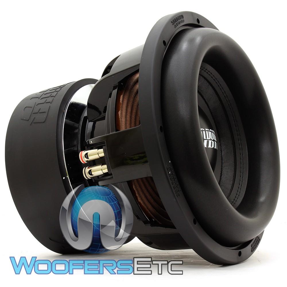 "Sundown Audio X-12 V.2 D4 12"" 1500W RMS Dual 4-Ohm X V.2 Series Subwoofer"