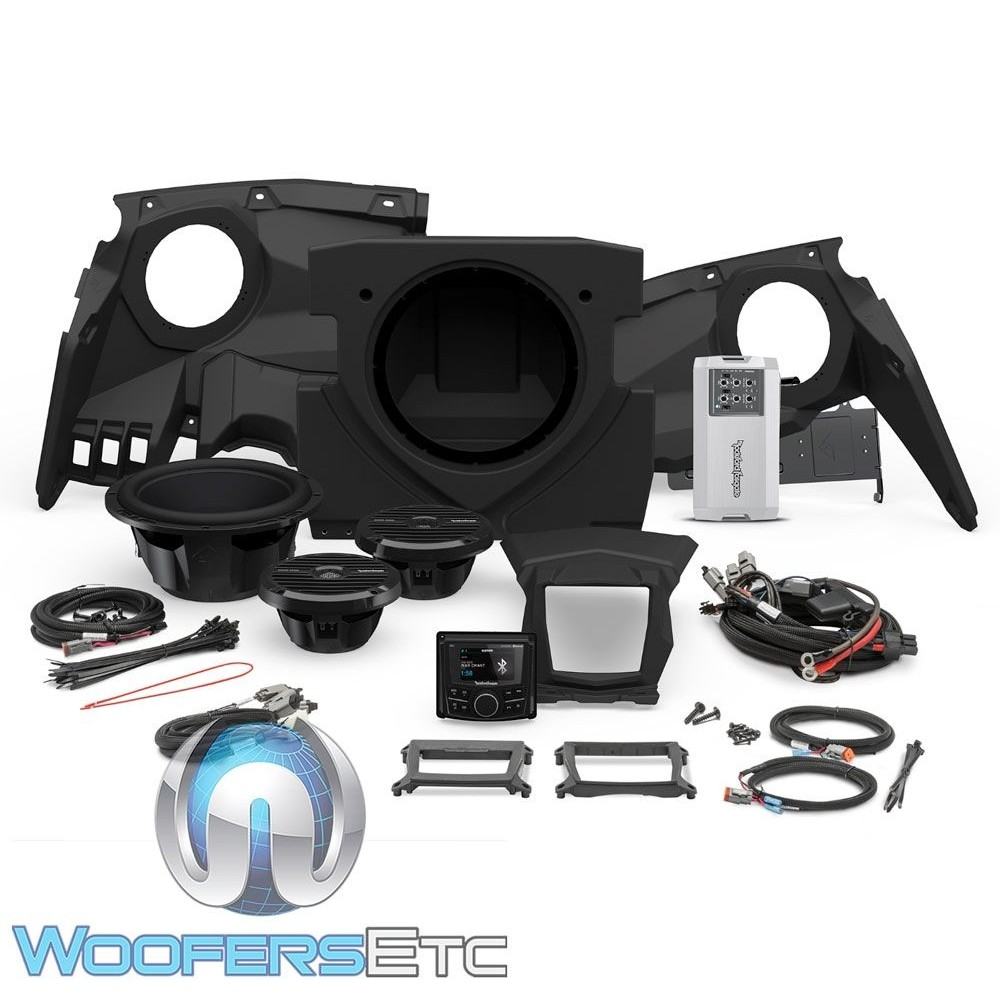 Rockford Fosgate PMX3UPGR-X317-STAGE3 Audio Kit for Select Can-Am Maverick X3 Motorsport Vehicles