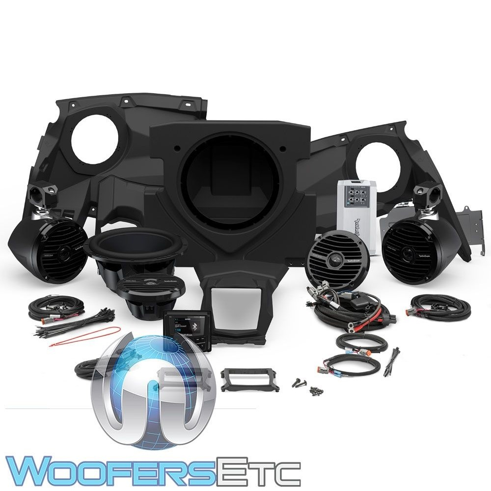 Rockford Fosgate X317-STAGE4 Audio Kit for Select Can-Am Maverick X3 Motorsport Vehicles