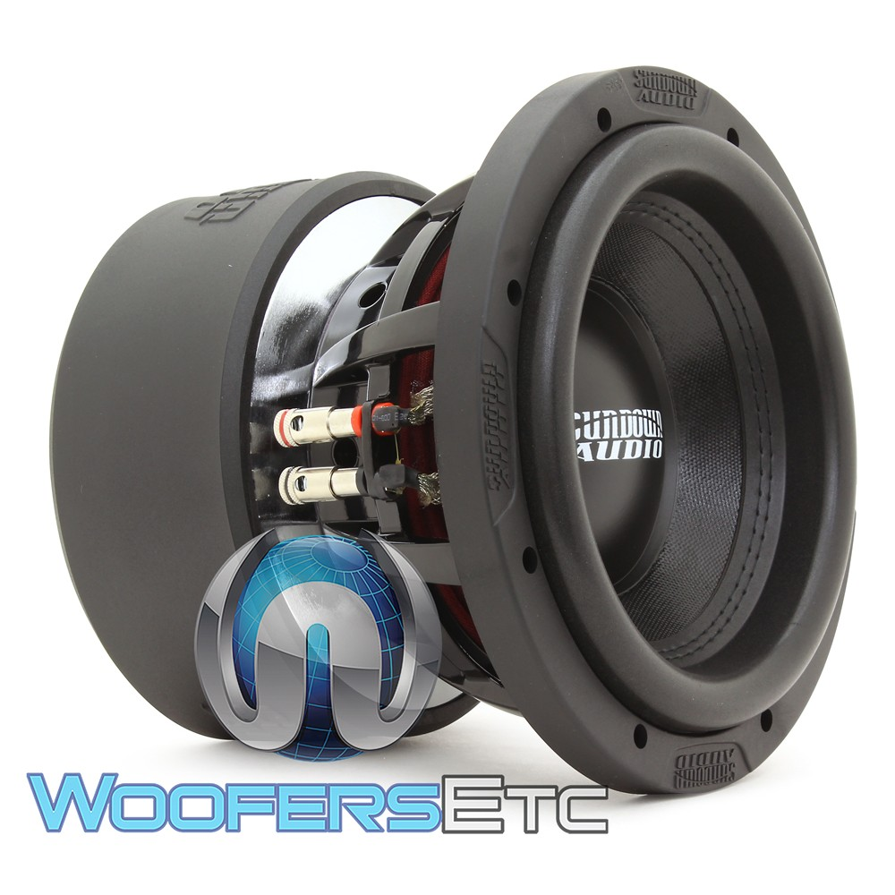 "Sundown Audio X-8 V.3 D2 8"" 800W RMS Dual 2-Ohm X-V.3 Series Subwoofer"