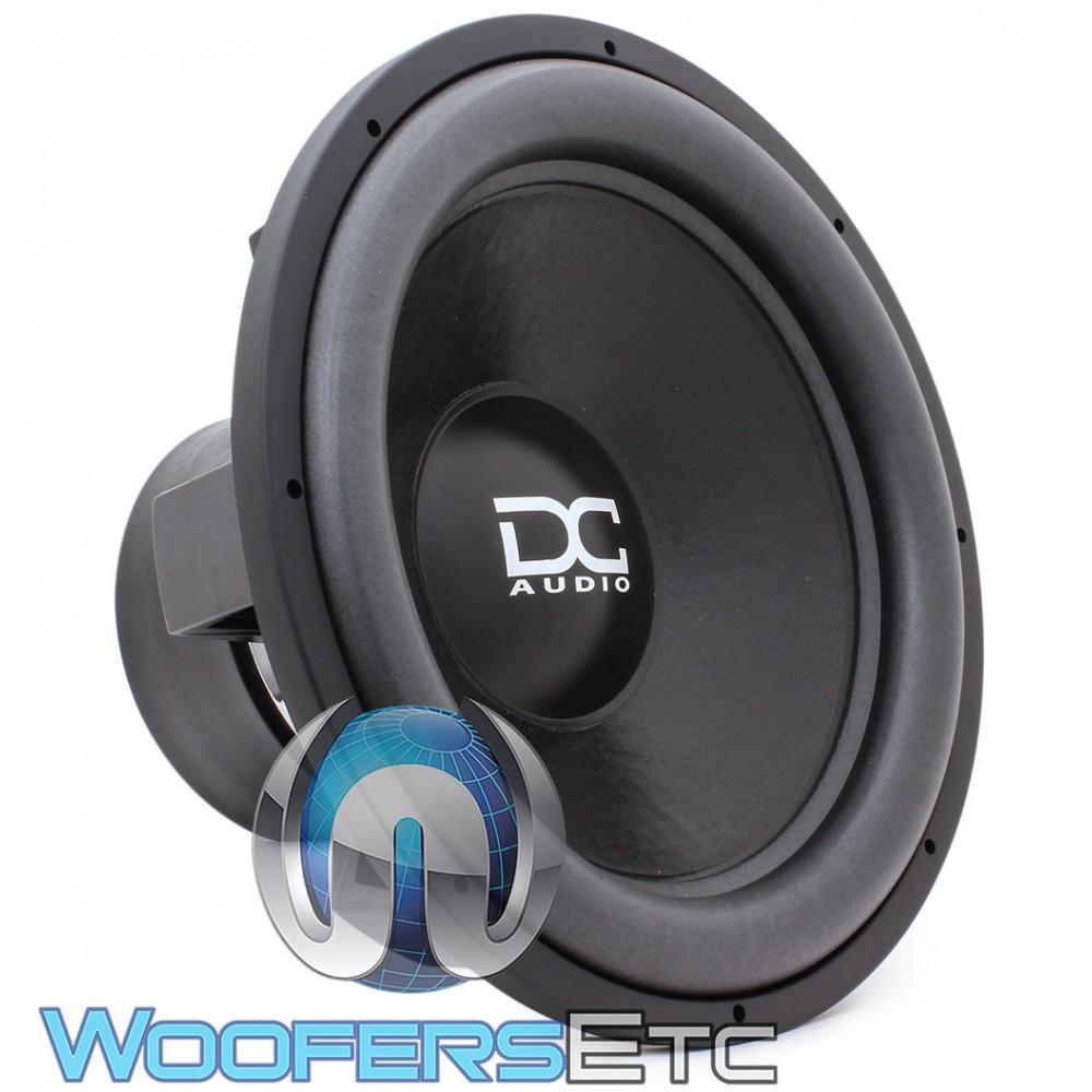 """DC Audio XL M4 18 D1 18"""" Dual 1-Ohm 2200W RMS Subwoofer"""