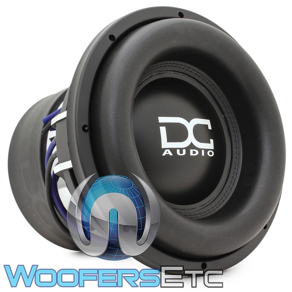 """DC Audio XL M4 ELITE 12 D1 12"""" Dual 1-Ohm 2200W RMS Subwoofer"""