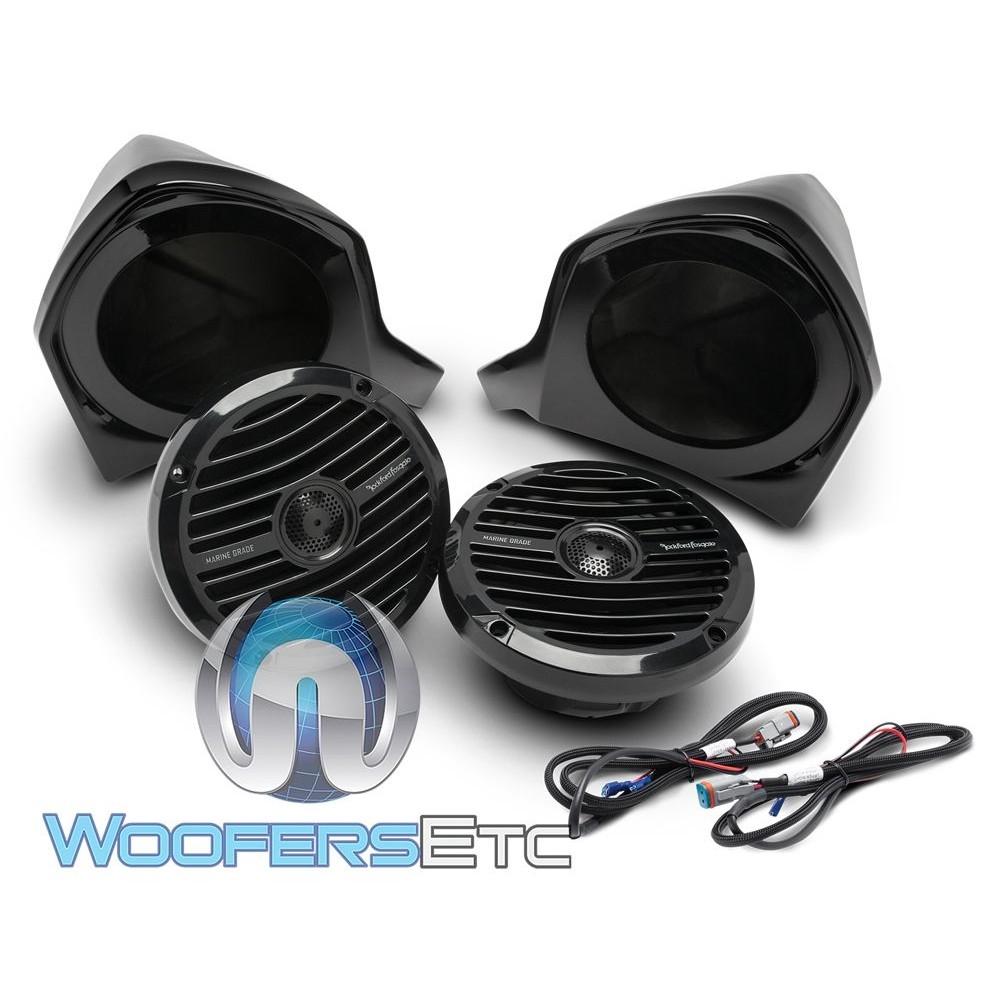 Rockford Fosgate YXZ-UPPER Add-on Speaker Kit for Select Yamaha YXZ Models