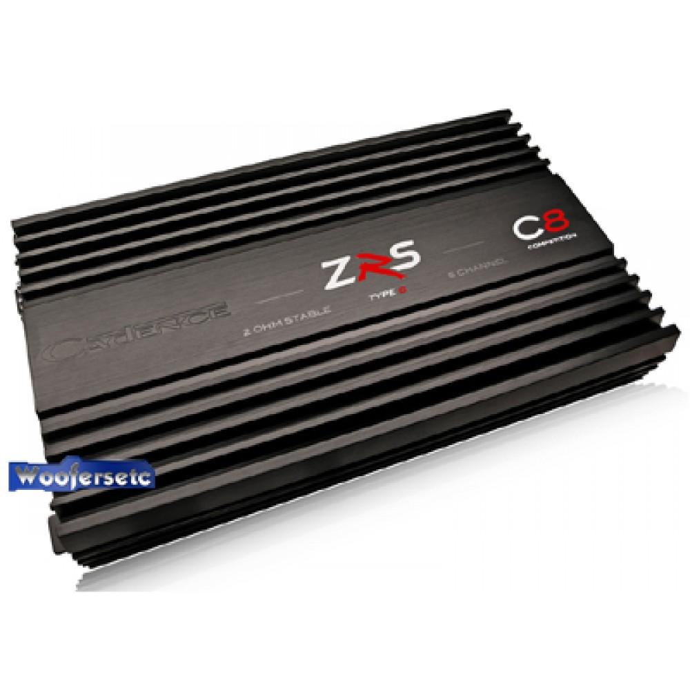 ZRS-C8 - Cadence 2000W 5-Channel ZRS Type C Series High Powered Car Amplifier