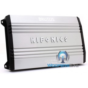 HIFONICS BRUTUS BRX616.4 640W RMS 4 CHANNEL AMPLIFIER CAR AUDIO STEREO AMP 1200