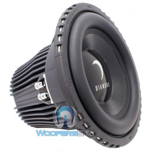 D910d2 Diamond Audio 10 Quot 1200 Watt Dual 2 Ohm Subwoofer