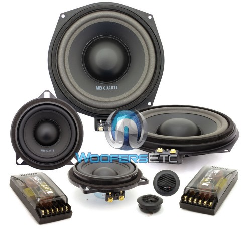 qm200 3 mb quart 8 5 quot 4 ohm 3 way component speakers system for select bmw vehicles