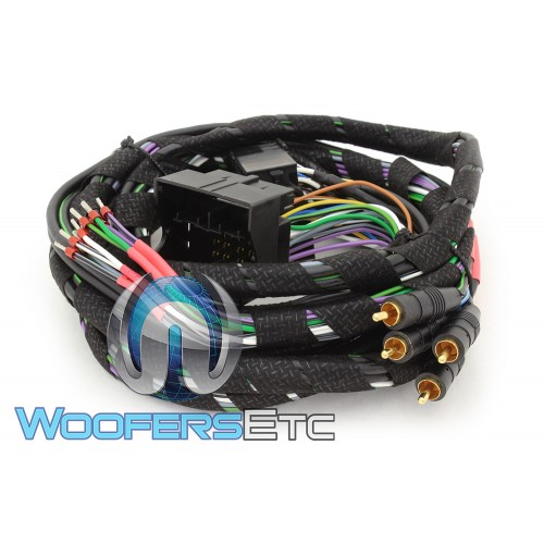 Mosconi Z-PP-QL-4CH 2.5M 4-Channel Quadlock Wiring Harness on