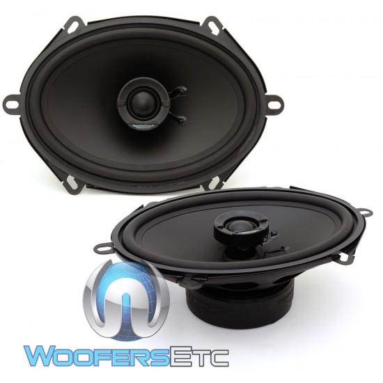 "Image Dynamics ID57 5"" x 7"" 75 Watts RMS ID Series Coaxial Speakers"