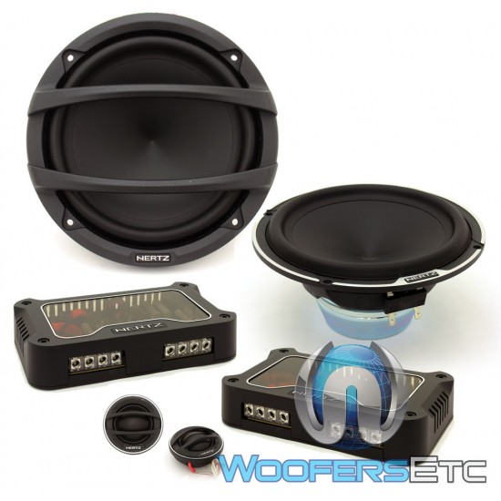 """(Open Box) Hertz MLK1650.3 6.5"""" 150 Watts RMS Mille Series 2-Way Component Speakers System"""