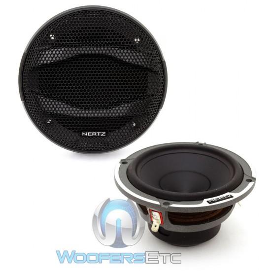 "Hertz MP70.3 50 Watts RMS 3"" Mille Series Midrange Speakers"