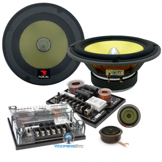 "165KR2 - Focal 6.5"" 2-Way Component System with TNK Tweeter"