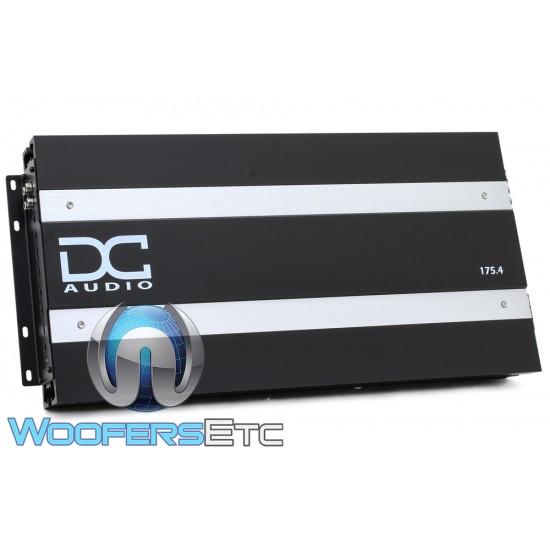 DC Audio 175.4 4-Channel 250W x 4 RMS Amplifier
