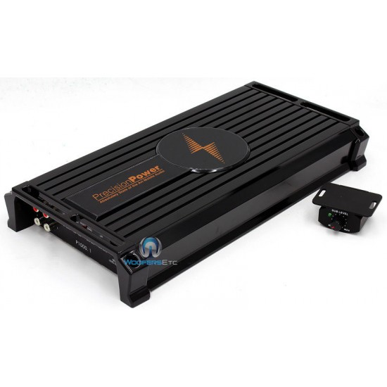 P1000.1 - Precision Power Monoblock 2000 Watts Max Class D Amplifier