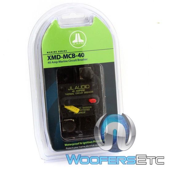XMD-MCB-40 - JL Audio 40 Amp Waterproof Ignition Protected Circuit Breaker