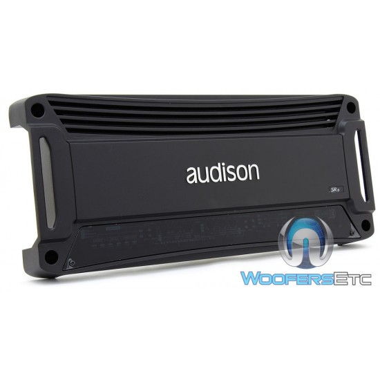 SR5 - Audison 5-Channel 540W Power Amplifier with Crossover