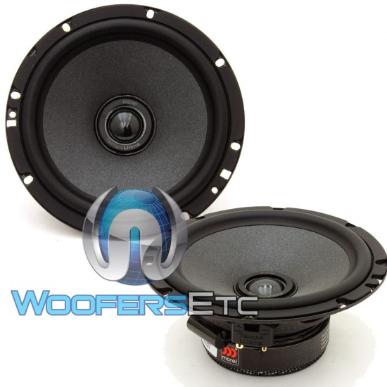 """Tempo Ultra Integra 602 - Morel 6.5"""" 110W RMS Tempo Ultra Series 2-Way Coaxial Speakers"""