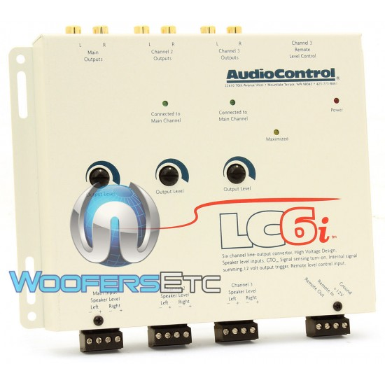 LC6i - AudioControl Six Channel Line Output Converter