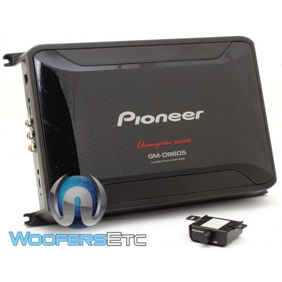 GM-D9605 - Pioneer 5-Channel 1000W RMS Class D Amplifier