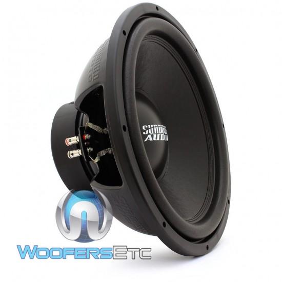 "Sundown Audio E-15 D4 v.3 15"" 500W RMS Dual 4-Ohm E Series Subwoofer"
