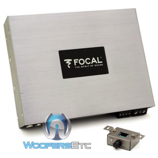 (Open Box) FPD 900.1 - Focal Monoblock 900W RMS Compact Amplifier