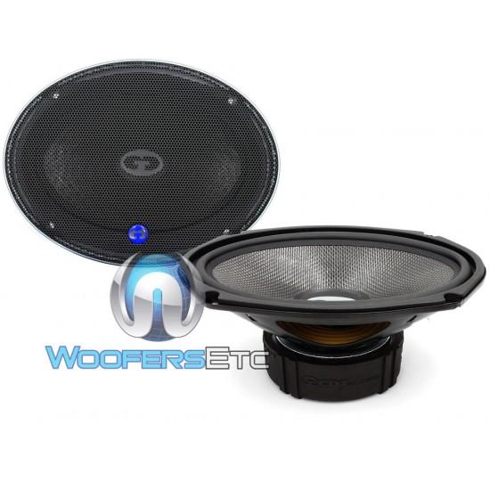 """HD-690CF - CDT Audio 6x9"""" Carbon Fiber Subwoofer Cast Mid-Woofer"""