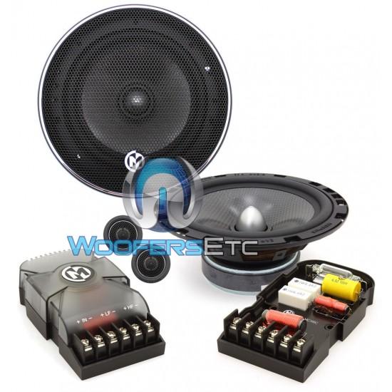 "15-MCX6C - Memphis 6.5"" 50W RMS MCX Series Component Speakers System"