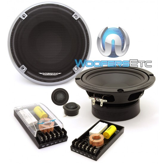 "Image Dynamics ID65CS 6.5"" 100 Watts RMS ID Series Component Speakers System"
