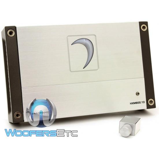 Diamond Audio HXM800.1D Monoblock 800 Watts RMS Class D HXM Series Amplifier