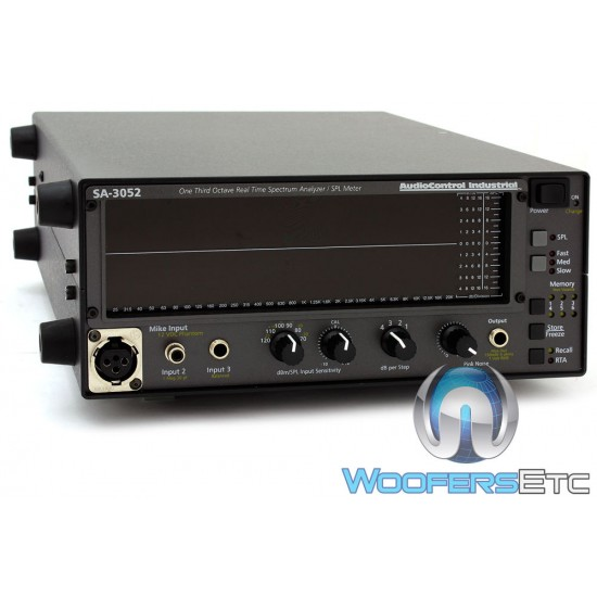 AudioControl SA-3052A Real-Time Spectrum Analyzer with Battery and Port