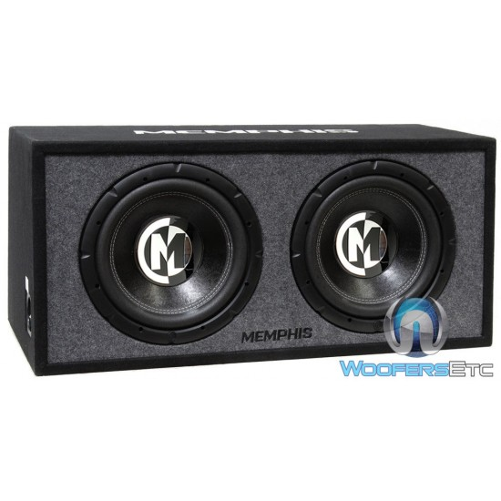 "Memphis 15-PRXE12D 12"" 600 Watts RMS Enclosed Subwoofers"