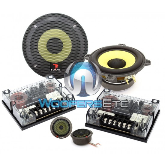 "(Open Box) 130KR - Focal 5.25"" 2-Way K2 Power Component System"