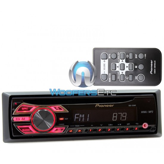 DEH-150MP - Pioneer In-Dash CD/MP3/WMA Car Stereo Receiver with