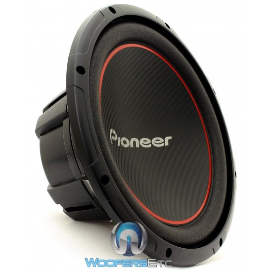 ts w304r pioneer 12 quot 300w rms single 4 ohm chion series subwoofer