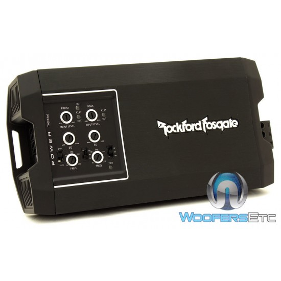 Rockford Fosgate T400X4AD Power Series Class-AD 4-Channel Compact Amplifier