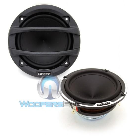 "Hertz ML700.3 50 Watts RMS 3"" Mille Legend Series Midrange Speakers"
