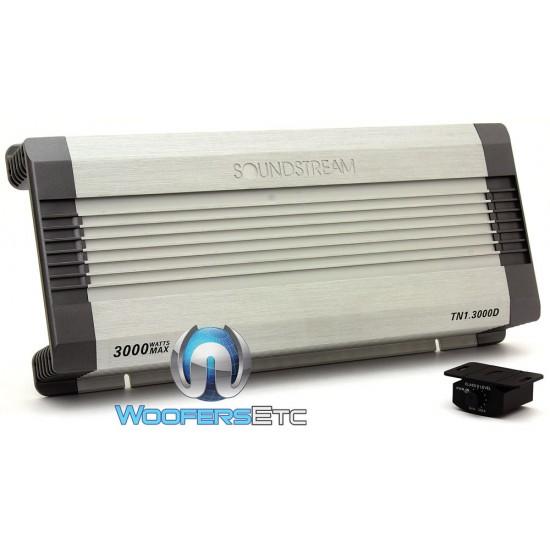 Soundstream TN1 3000D Monoblock 3000 Watts Class D Full