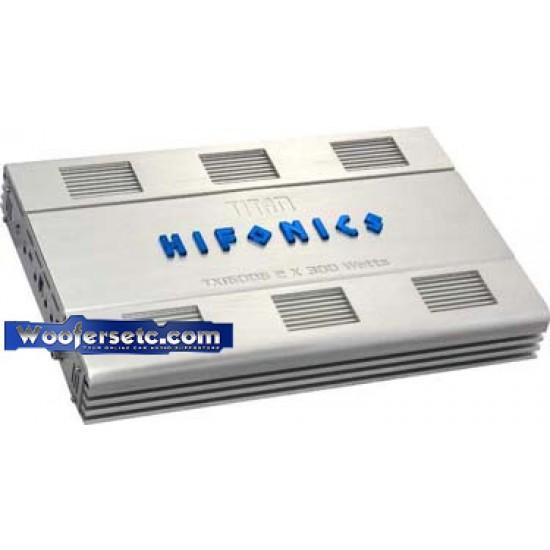 TXi 6006 - Hifonics 2 Ch 600 Watt Titan Amplifier