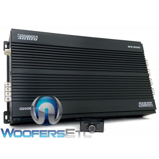 Sundown Audio SFB-8000D Monoblock 8100W RMS Class-D Full Range Amplifier